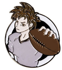 Manga Football Pin