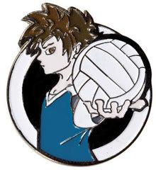 Manga Volleyball Pin