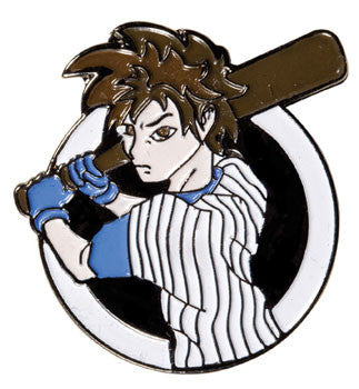 Manga Baseball Pin