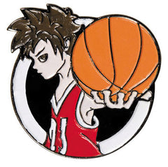 Manga Basketball Pin