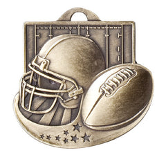 Victory Trophy Medals - Football - 2 inch Star Blast sport medals series II