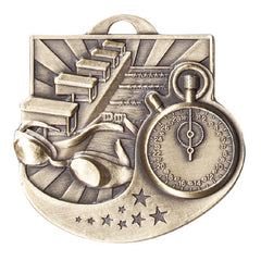 Victory Trophy Medals - Swimming - 2 inch Star Blast sport medals series II