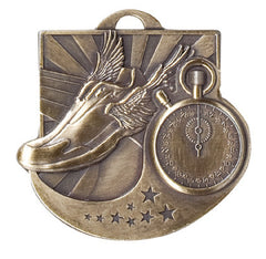 Victory Trophy Medals - Track - 2 inch Star Blast sport medals series II