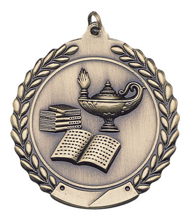 Sport Medals - Lamp Of Knowledge