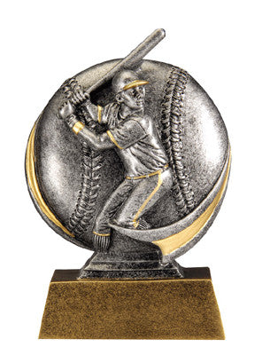 Motion Xtreme Icon Male Baseball 5 inch Resin Sculpture
