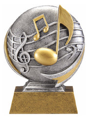 Motion Xtreme Icon Music 5 inch Resin Sculpture