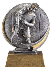Motion Xtreme Icon Male Tennis 5 inch Resin Sculpture