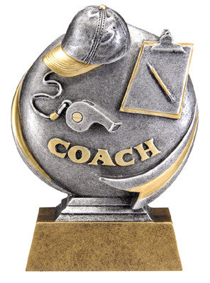 Motion Xtreme Icon Coach 5 inch Resin Sculpture