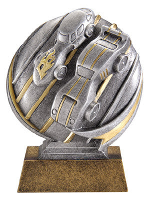 Motion Xtreme Icon Pinewood Derby 5 inch Resin Sculpture