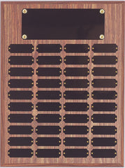 Perpetual 40 Plate Plaque 12 inch x 16 inch  Black or Satin
