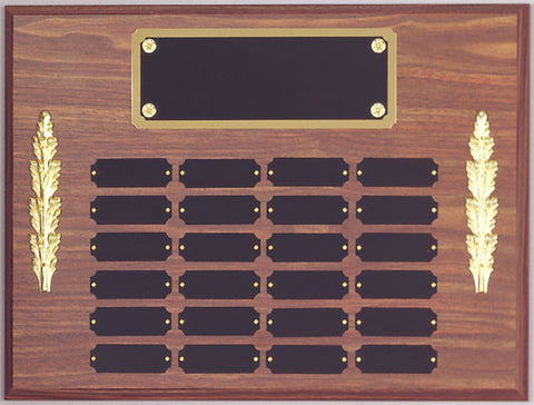 Perpetual 24 Plate Plaque 12 inch x 16 inch