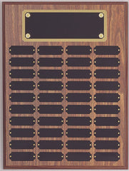 Perpetual 40 Plate Plaque 12 inch x 16 inch