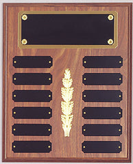 Perpetual 12 Plate Plaque 10-1/2 inch x 13 inch