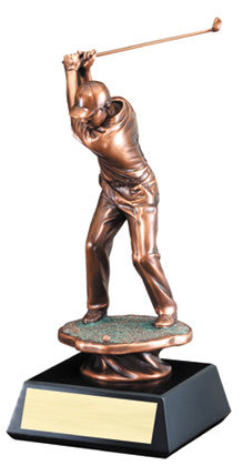 Gallery Resin Golf Drive, Male 13 inch or  16 inch or  20 inch