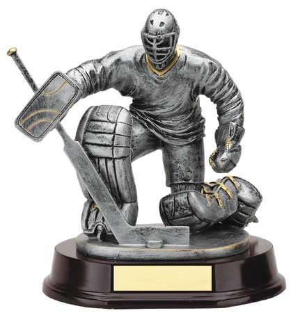 Hockey Goalie 6 inch