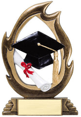 Flame Series Graduation Resin 6 or 7-1/4 inch