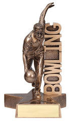 Billboard Series Male Bowling Resin 6-1/2  or 8-1/2  inch