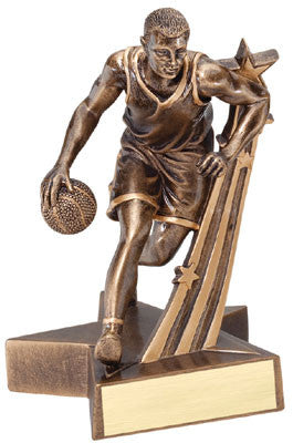 Superstars Series Resin Male Basketball 6-1/2  or 8-1/2  inch