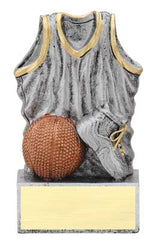 Basketball Jersey Resin 4-1/2 inch   - Resin  Stands