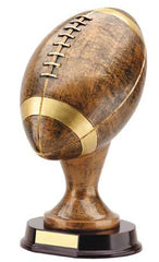 Football 12inch , Bronze with Gold Trim