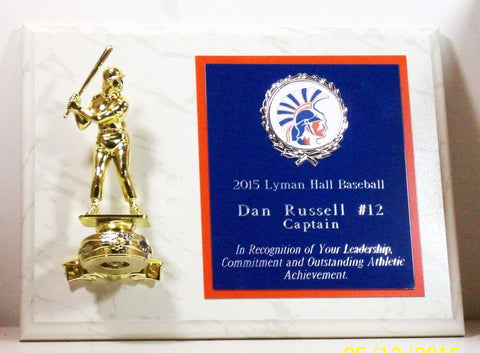Baseball Plaque