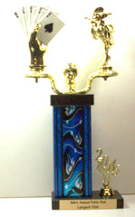 Motorcycle Poker Run Trophy