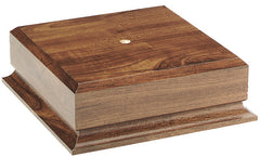 Walnut Base for Wine Cooler 8 inch & 10 inch