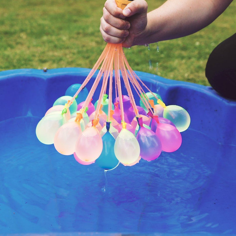RAPID WATER BALLOON FILLER - 111 BALLOONS