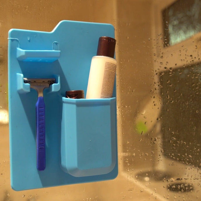 BATHROOM ORGANIZER (BLUE)