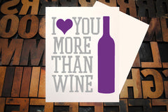 More Than Wine...