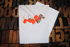 Dachshund Couple