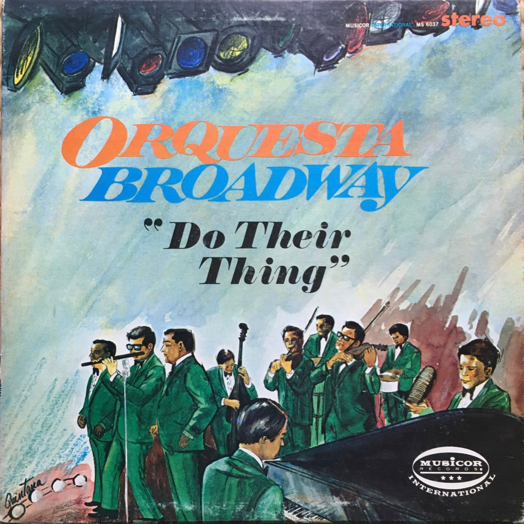 Orquesta Broadway ‎– Do Their Thing - monads records