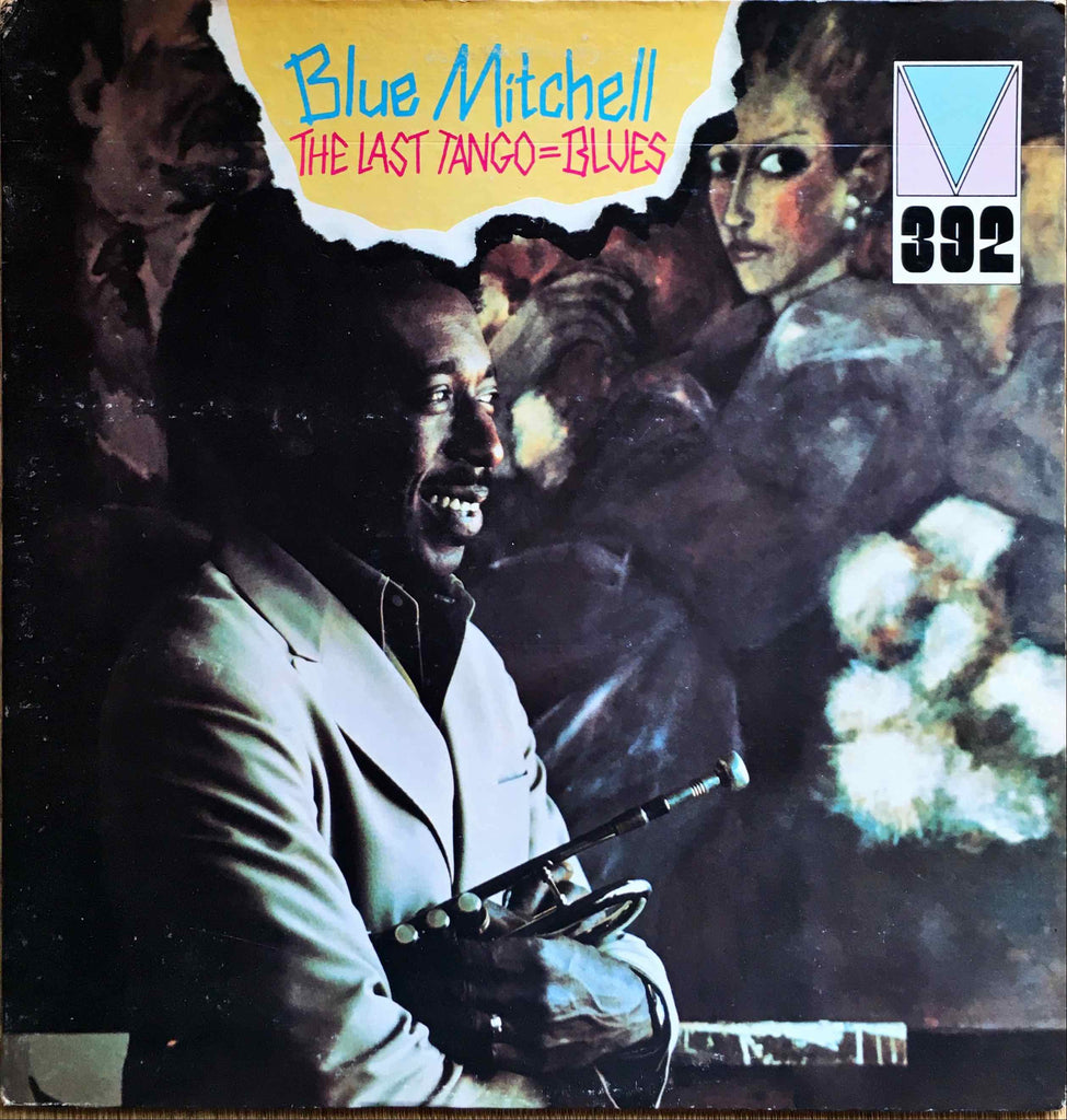 Blue Mitchell ‎– The Last Tango=Blues LP sleeve image front