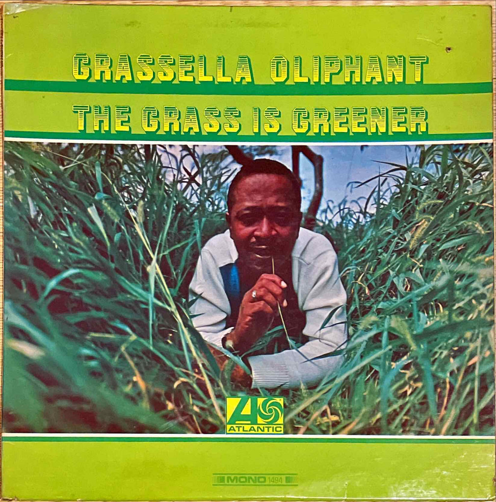 Grassella Oliphant ‎– The Grass Is Greener LP sleeve image front
