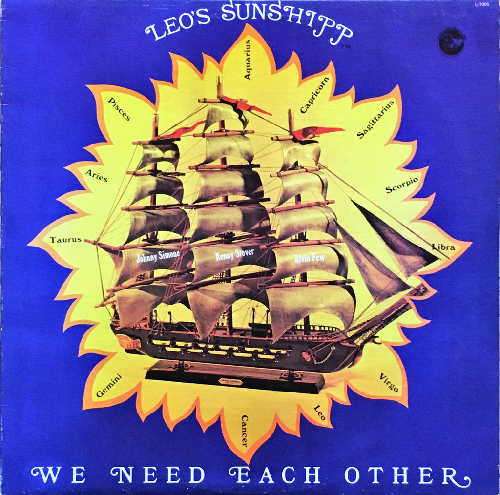 Leo's Sunshipp ‎– We Need Each Other - monads records