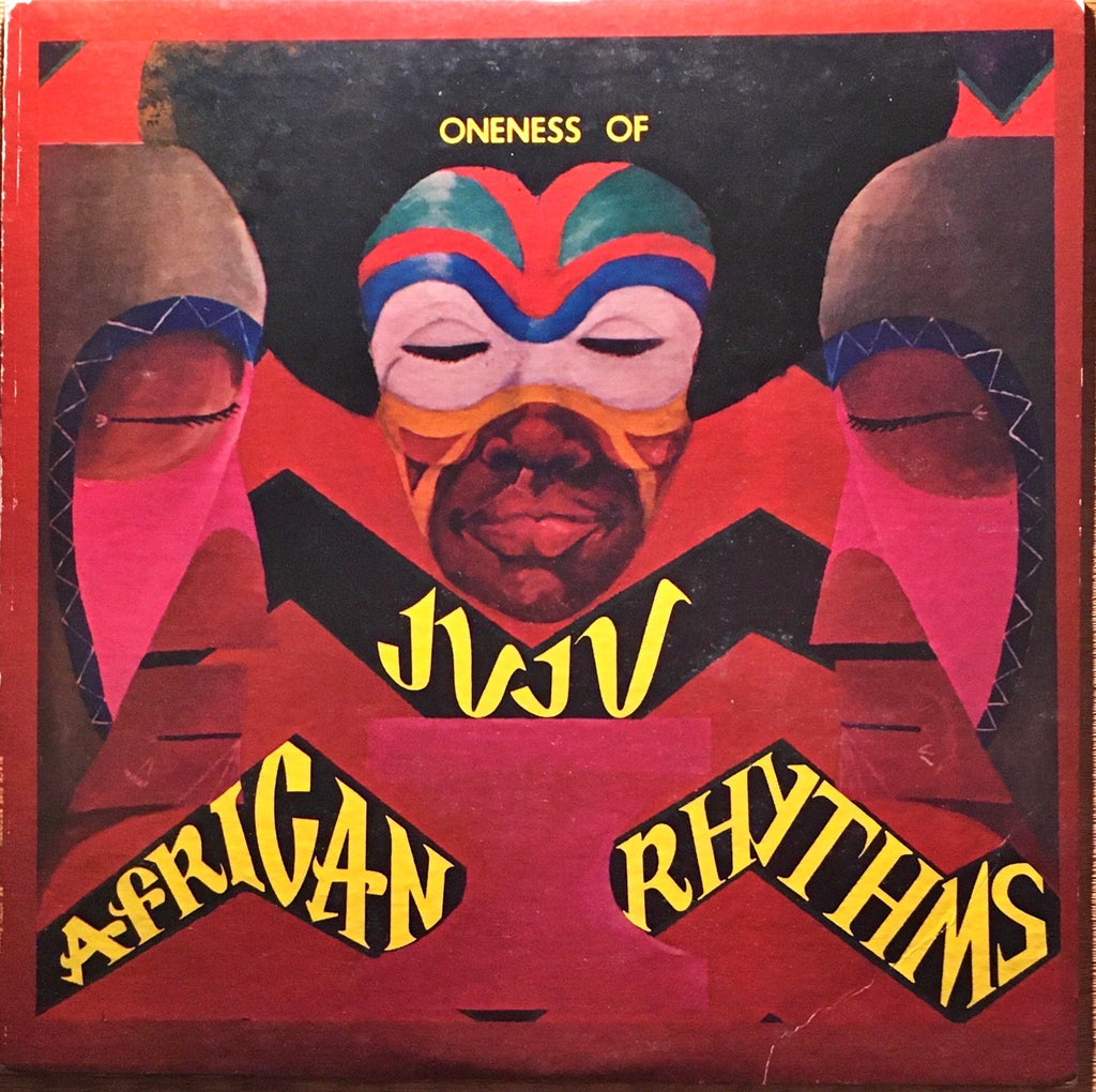 Oneness Of Juju ‎– African Rhythms LP sleeve image front
