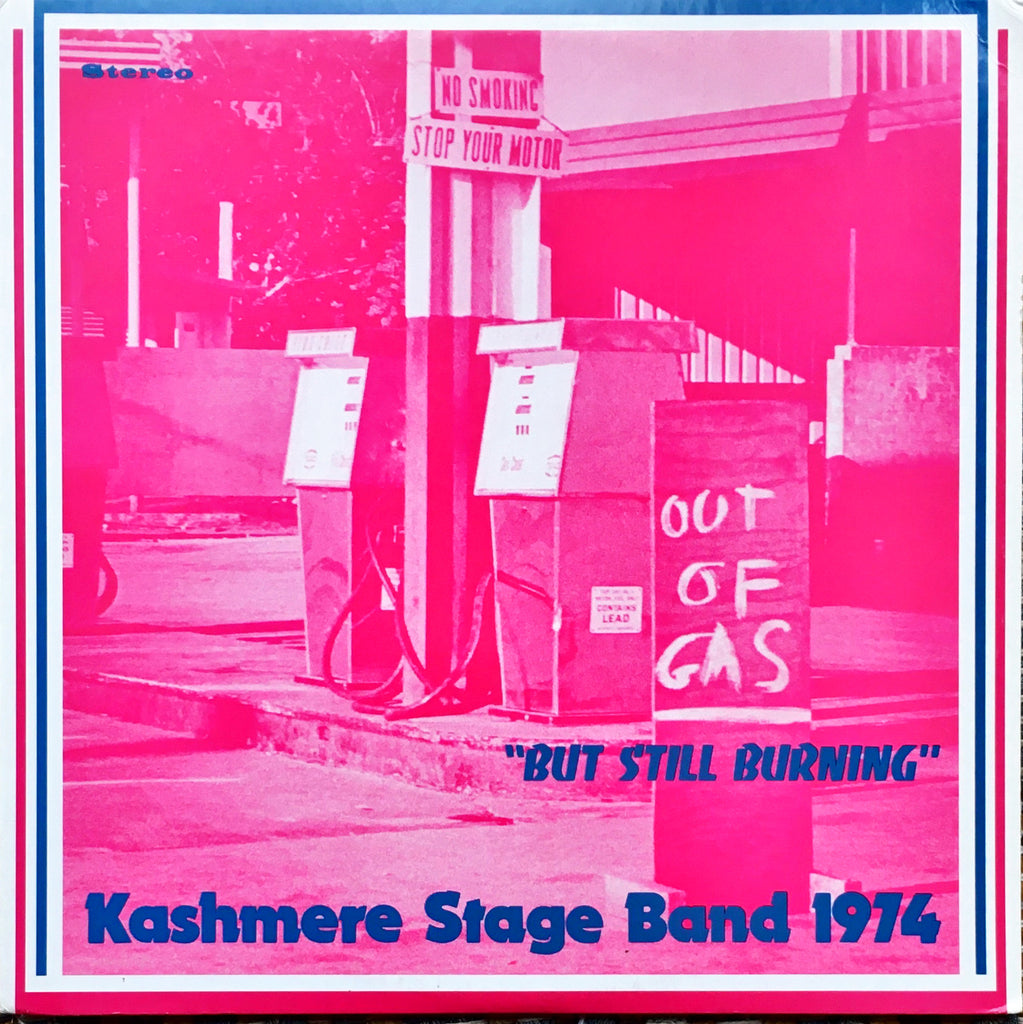"Kashmere Stage Band ‎– Out Of Gas ""But Still Burning"" LP sleeve image front"