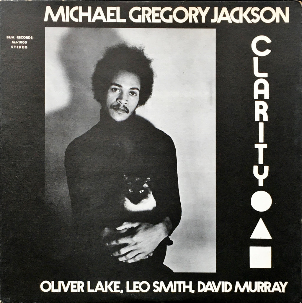 Michael Gregory Jackson, Oliver Lake, Leo Smith, David Murray ‎– Clarity LP sleeve image front