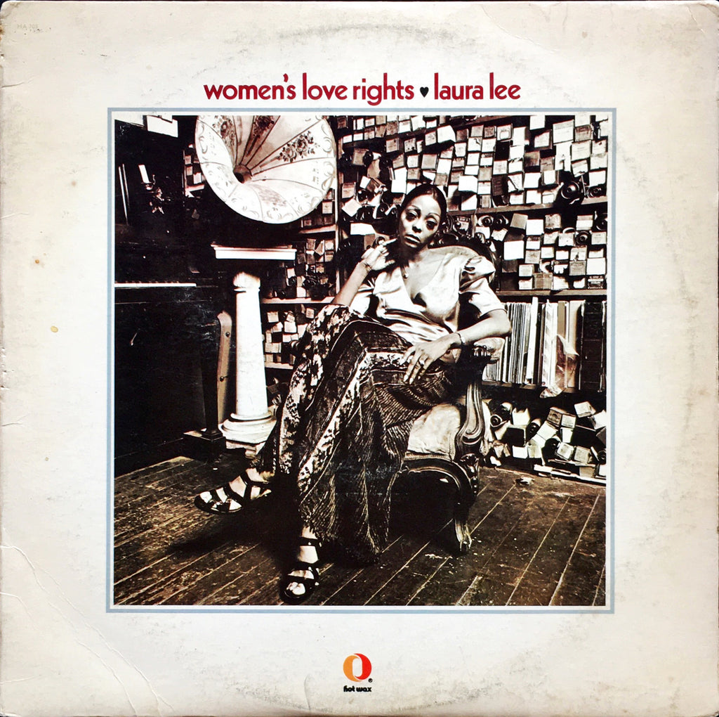Laura Lee ‎– Women's Love Rights LP sleeve image front