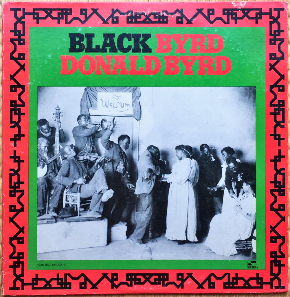 Donald Byrd ‎– Black Byrd LP sleeve image front