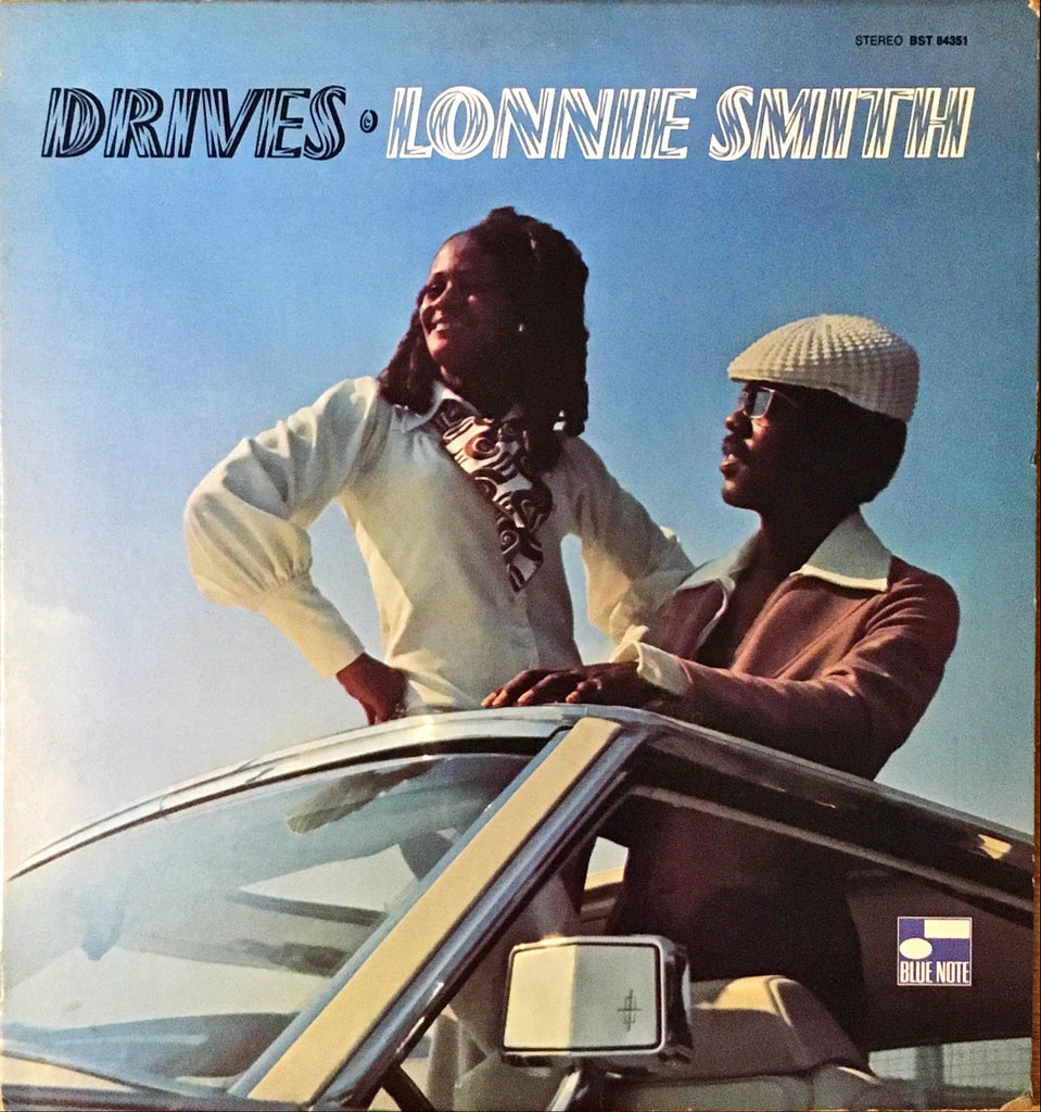 Lonnie Smith ‎– Drives LP sleeve image front
