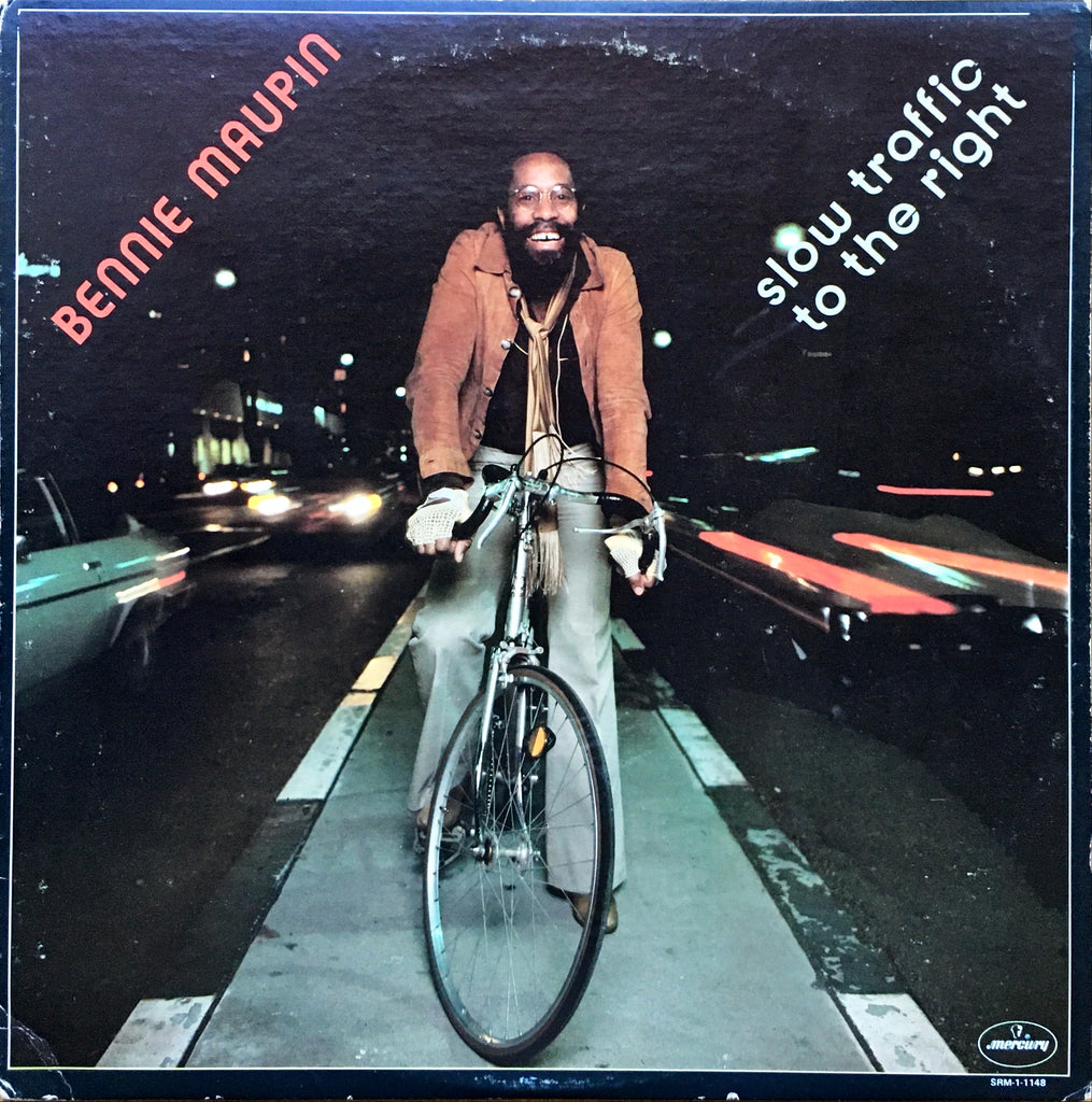 Bennie Maupin ‎– Slow Traffic To The Right LP sleeve image front