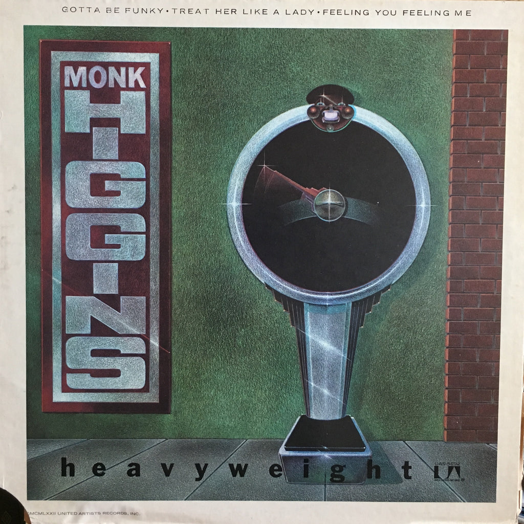 Monk Higgins & The Specialties ‎– Heavyweight - monads records