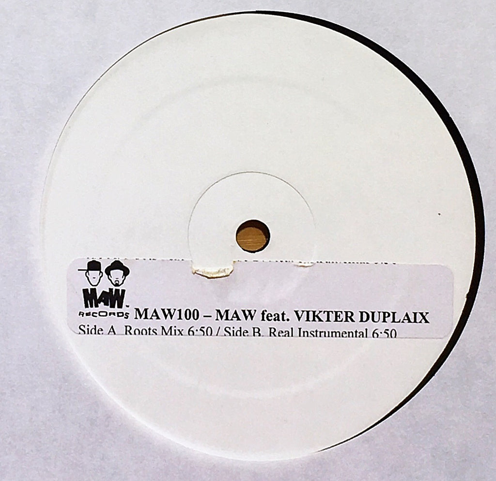 MAW Featuring Vikter Duplaix ‎– Reality - monads records