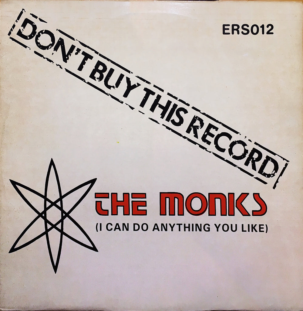The Monks  ‎– I Can Do Anything You Like - monads records