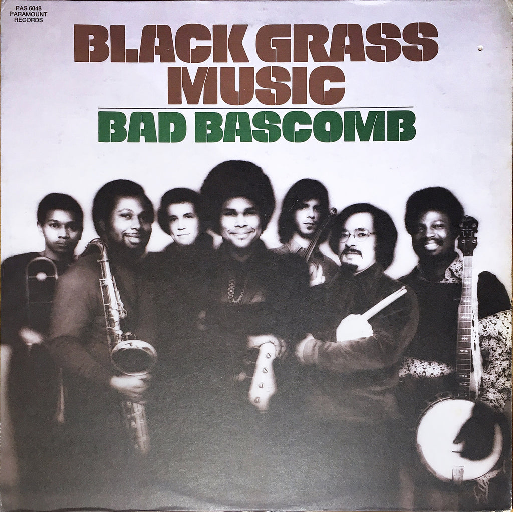Bad Bascomb ‎– Black Grass Music - monads records