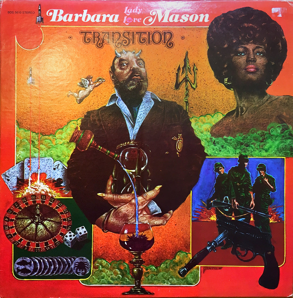 Barbara Mason ‎– Transition - monads records