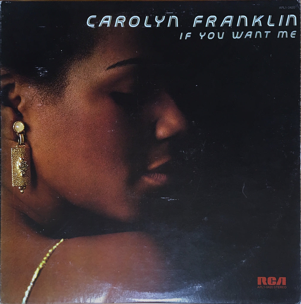 Carolyn Franklin ‎– If You Want Me - monads records