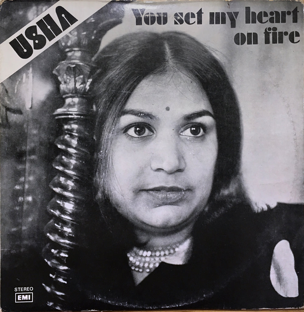 Usha ‎– You Set My Heart On Fire - monads records