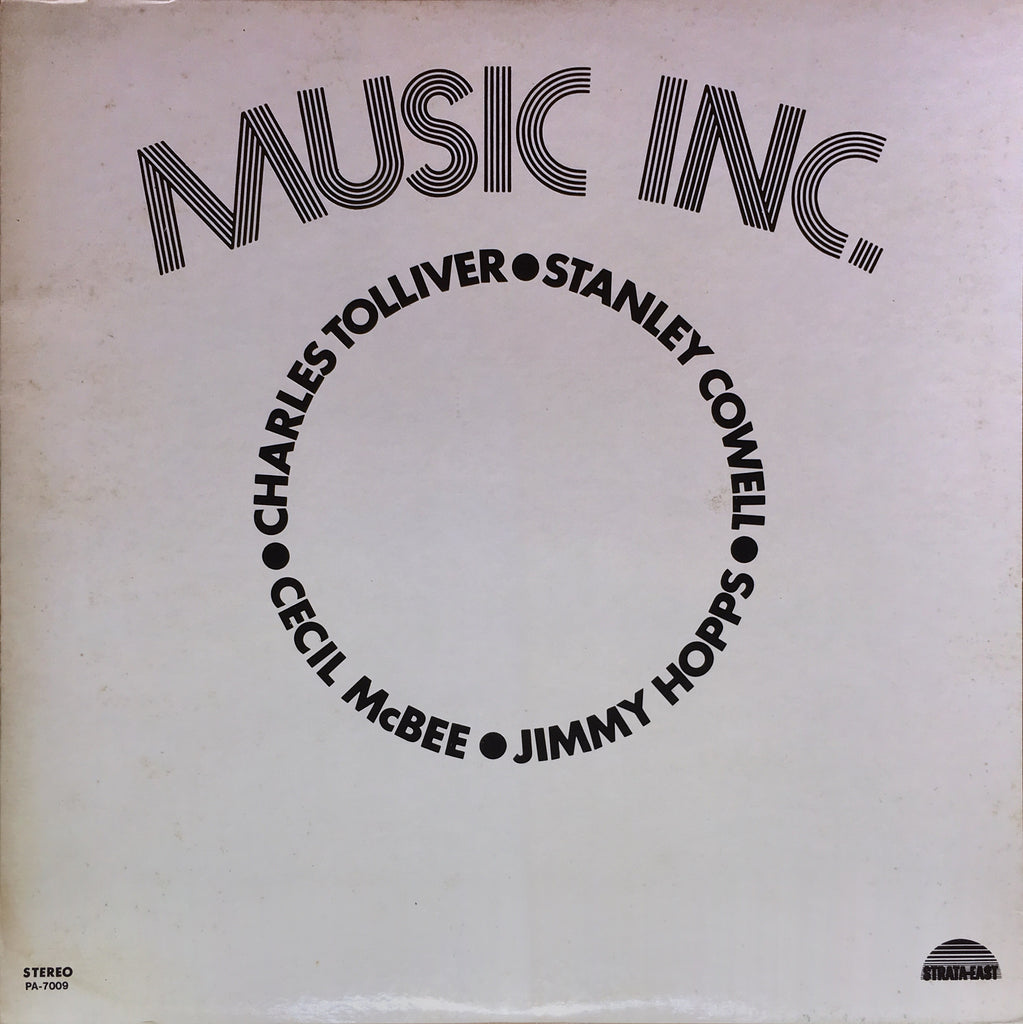 Music Inc. ‎– Music Inc. - monads records